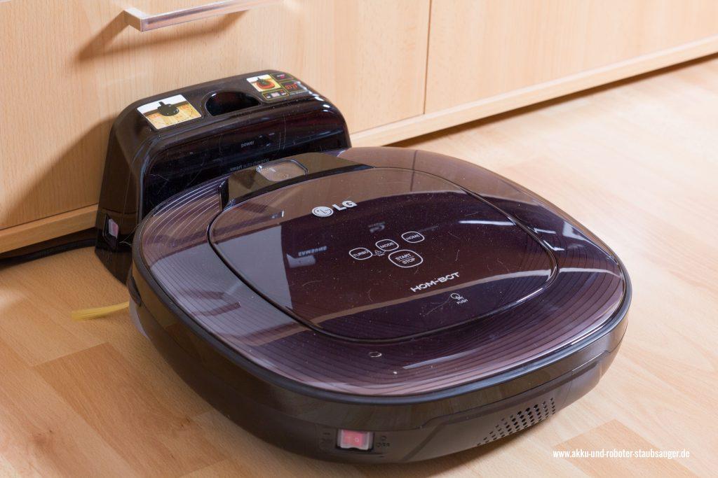 roboter staubsauger hombot lg vr6270 lvmb im test. Black Bedroom Furniture Sets. Home Design Ideas