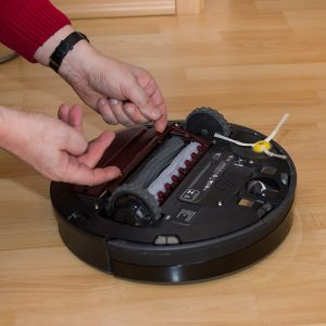 Roomba 880 ohne Bürsten