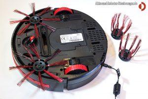 Dirt Devil M 607 Spider - Unterseite