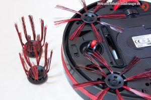 Dirt Devil M 607 Spider - Unterseite mit Bürsten