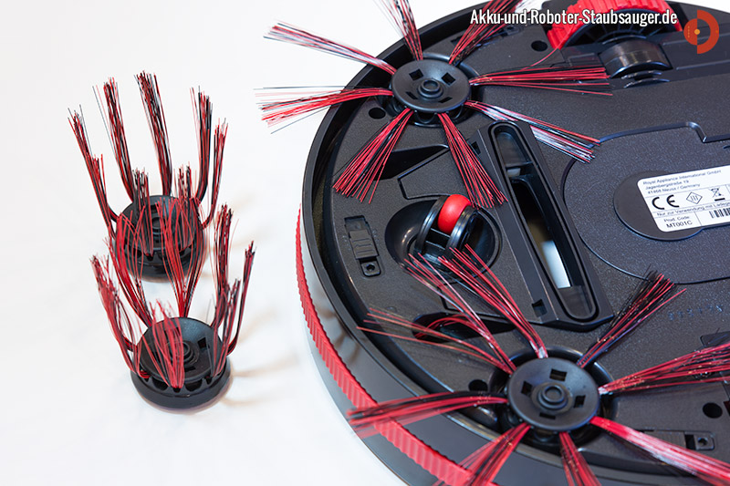 dirt devil m 607 spider unterseite mit b rsten akku. Black Bedroom Furniture Sets. Home Design Ideas