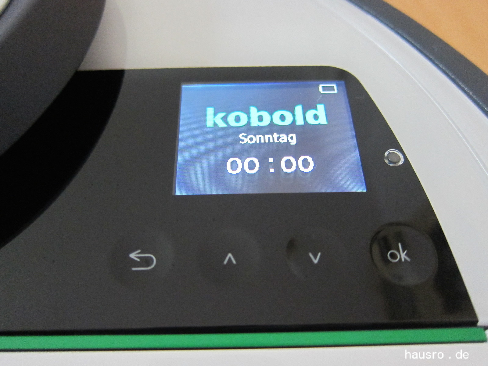display vorwerk kobold vr200 akku und roboter staubsauger. Black Bedroom Furniture Sets. Home Design Ideas