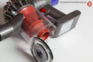 Dyson V6 Total Clean Schmutzklappe