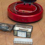 Sichler-NC5725-Staubsaugerroboter-PCR-3550UV-Test-Schmutztest-Saugtest