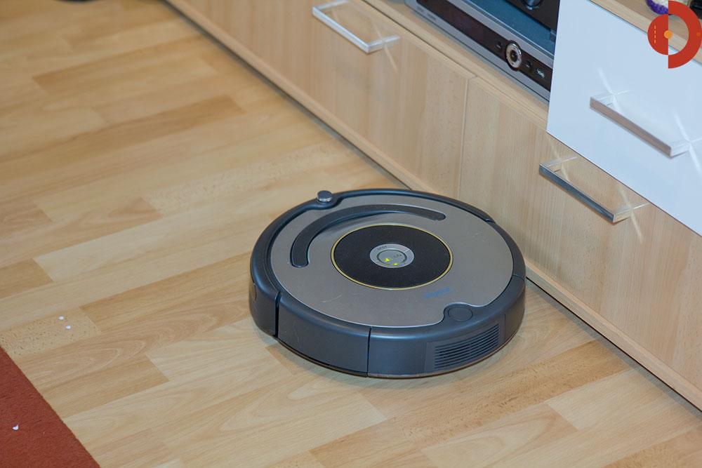 TOP Zustand! iRobot Roomba 616 Saugroboter EEK A Staubsauger grau
