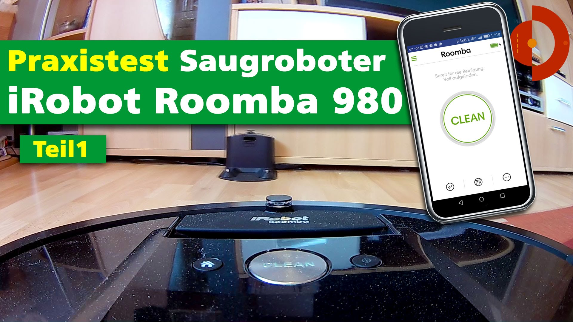 irobot roomba 980 im test akku und roboter staubsauger. Black Bedroom Furniture Sets. Home Design Ideas