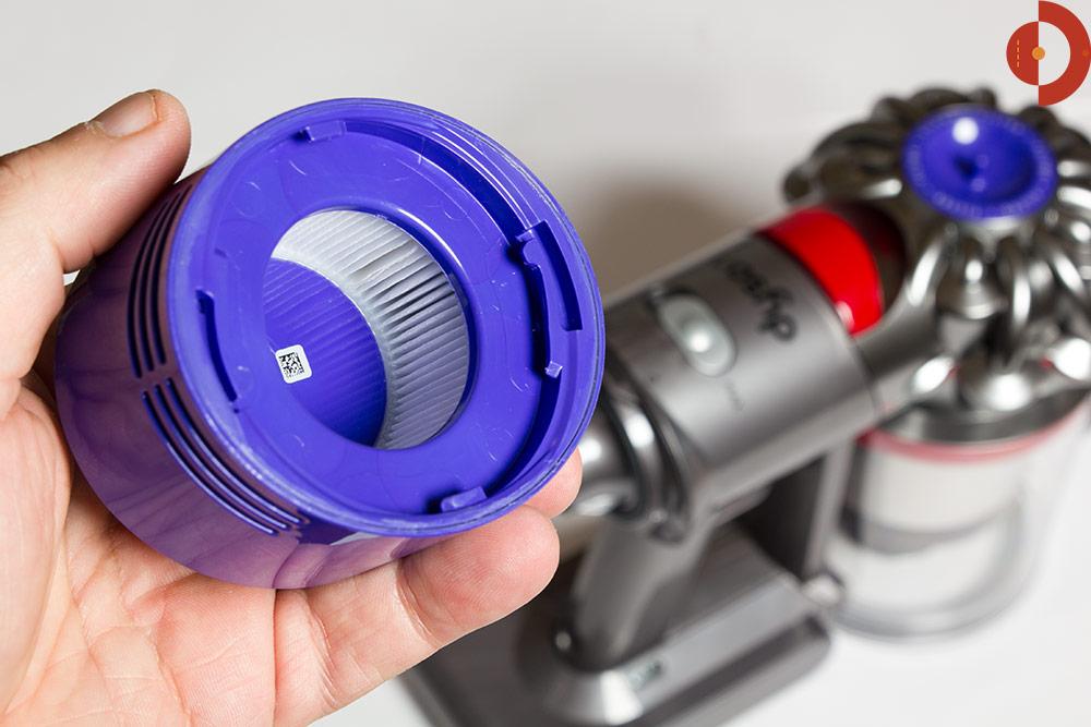 пылесос дайсон как снять фильтр