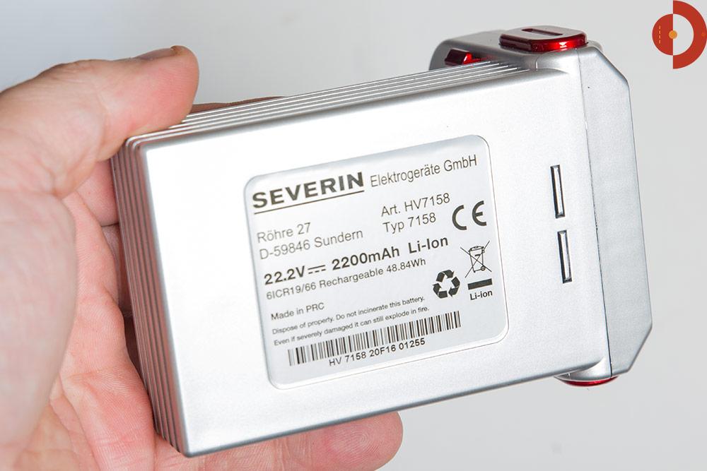 Test Severin HV7158 S´Special Action LI 30 - Akkustaubsauger