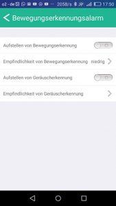 test-jisiwei-i3-app-alarmeinstellungen