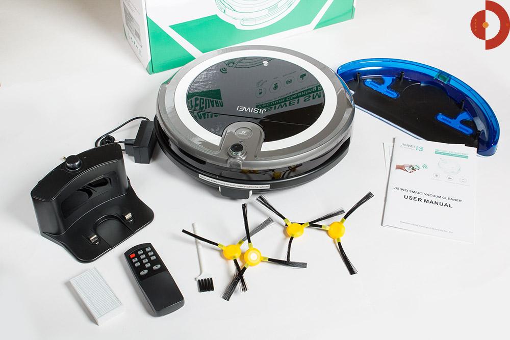 test-jisiwei-i3-roboter-lieferumfang