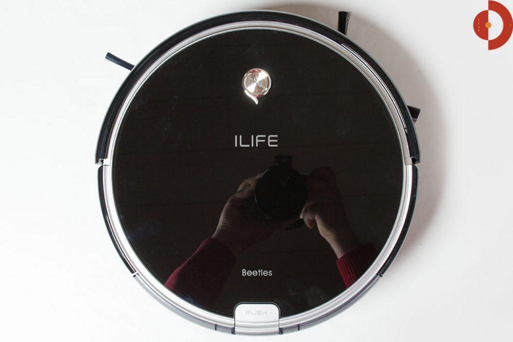ilife-a6-test-draufsicht-spiegelung