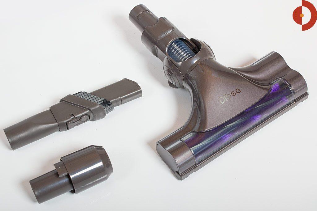 Dibea-F6-Akku-Staubsauger-Test-Bodenduese2