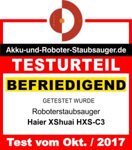 Bewertung-Haier-XShuai-HXS-C3