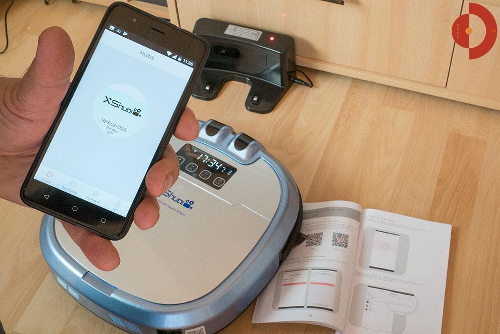 Haier-XShuai-HXS-C3-Test-WLAN-Smartphione-App