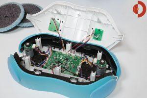 Moneual-RS500-Wischroboter-Elektronik