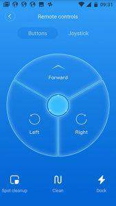 Screenshot-Xiaomi-Roborock-Steuerung-per-Tasten