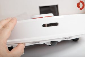 Xiaomi-Roborock-Robotic-Vacuum-Cleaner-Testbericht-Frontsensor