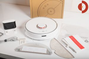 Xiaomi-Roborock-Robotic-Vacuum-Cleaner-Testbericht-Lieferumfang