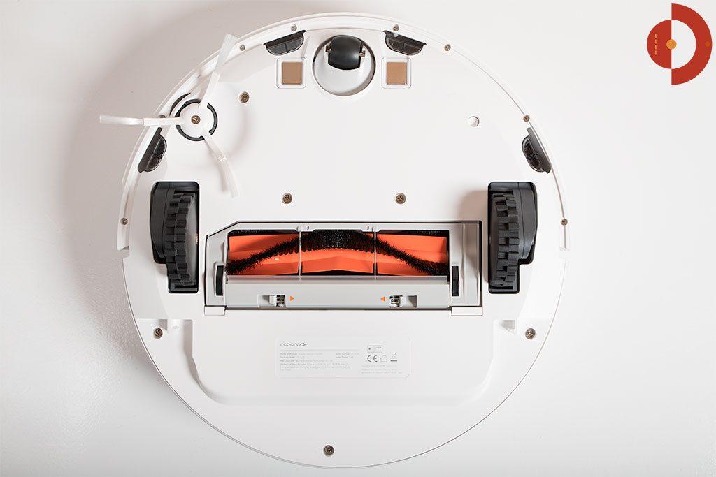 Xiaomi-Roborock-Robotic-Vacuum-Cleaner-Testbericht-Unteransicht