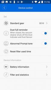 xiaomi-app-Xiaomi-ROIDMI-F8-Test-devise-control