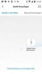 xiaomi-app-Xiaomi-ROIDMI-Test-hinzufuegen-1