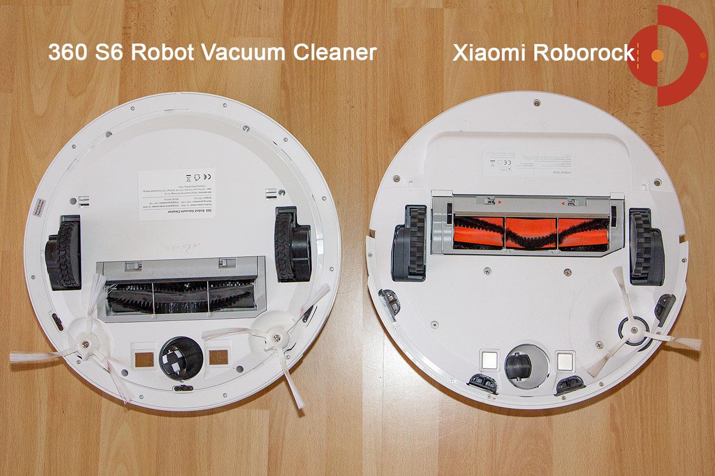 360 s6 robot vacuum cleaner roborock vergleich unterseite. Black Bedroom Furniture Sets. Home Design Ideas