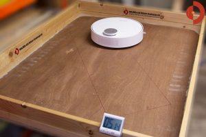 360-S6-Robot-Vacuum-Cleaner-Test-Randtest-Quarzsand