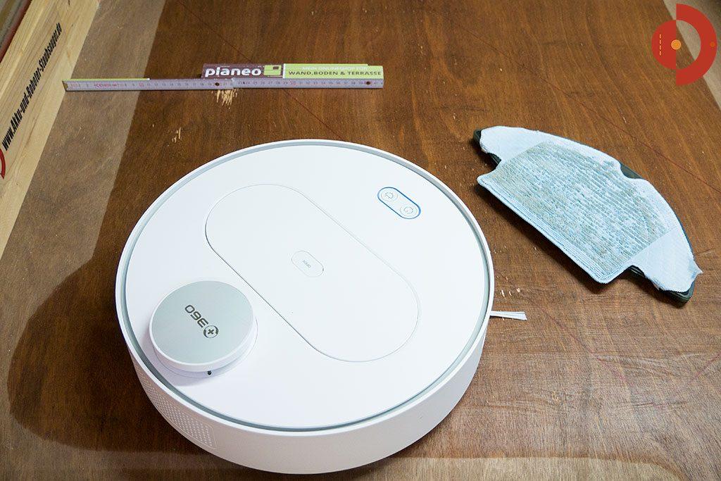 360-S6-Robot-Vacuum-Cleaner-Test-Wischtest-Rand