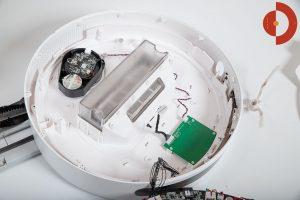 360-S6-Robot-Vacuum-Cleaner-aufschrauben-innen-6-Oberteil