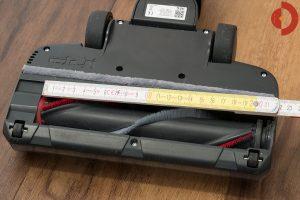 Akkustaubsauger-AEG-FX9-1-IBM-Test-Buerstenbreite