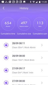 App-360-s6-robot-test-9-hystory