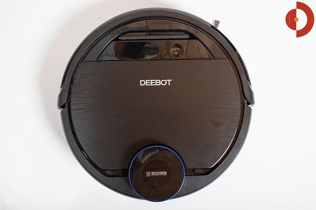 Ecovacs-Robotics-Deebot-OZMO-930-Test-Roboter-Draufsicht