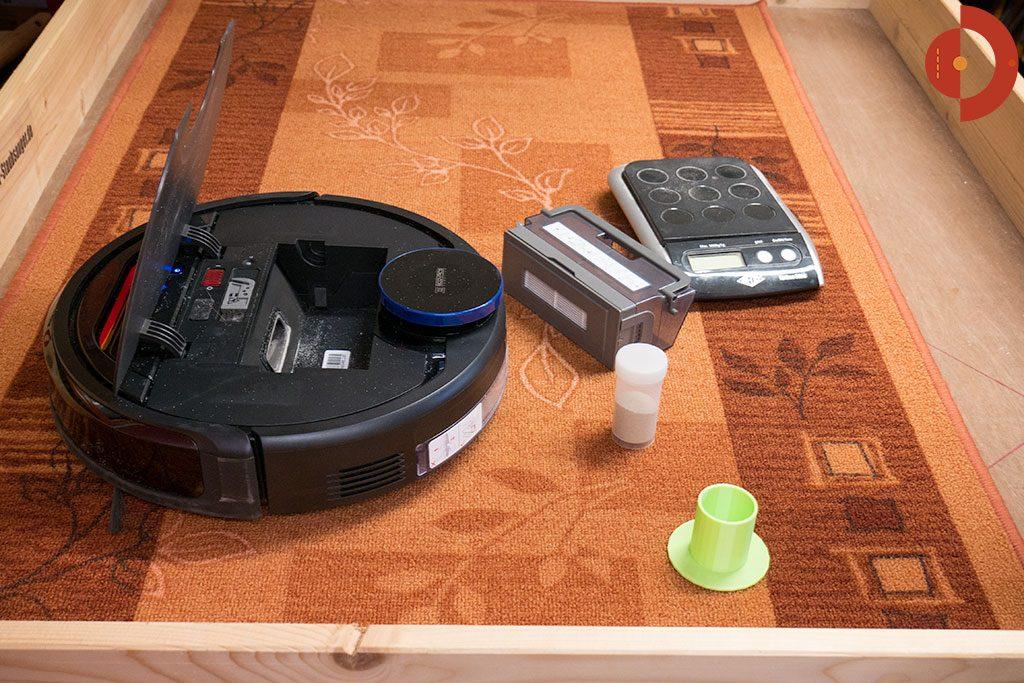 Ecovacs-Robotics-Deebot-OZMO-930-Test-Saugtest-Laeufer