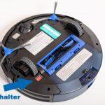 Eufy-RoboVac-30c-Test-Einschalter