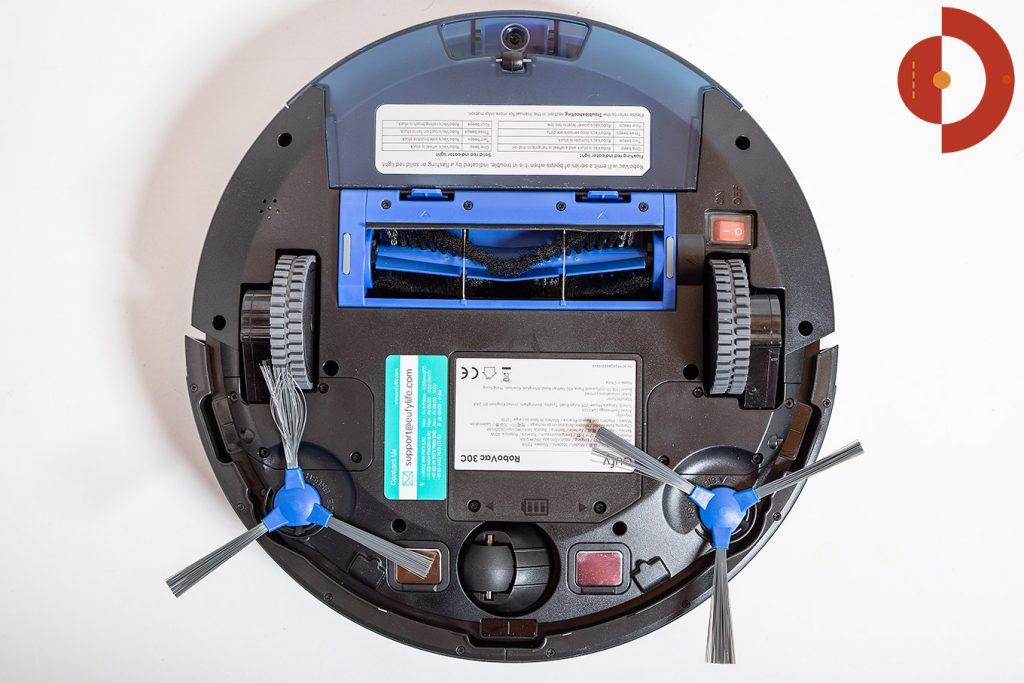 Eufy-RoboVac-30c-Test-Unteransicht