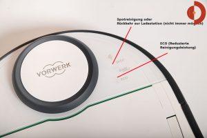Vorwerk-VR300-Test-Vorwerk-Kobold-Tasten