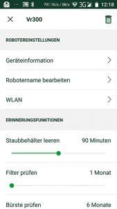 Vorwerk-Kobold-VR300-App-Einstellungen
