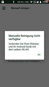 Vorwerk-Kobold-VR300-App-Fernsteuerung-nicht-moeglich