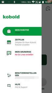 Vorwerk-Kobold-VR300-App-Menu