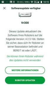 Vorwerk-Kobold-VR300-App-Update-Button