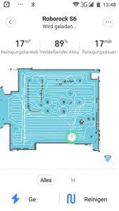 App-Roborock-S6-Erste-Karte-Einzelraum