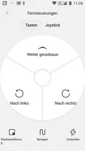 App-Roborock-S6-Fernsteuerung