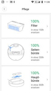 App-Roborock-S6-Wartungs-Info