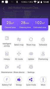 app-Saugroboter-360-s5-Menu