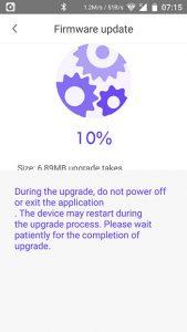 app-Saugroboter-360-s5-firmware-update-laeuft