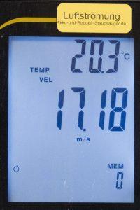 Beispiel: Strömung messen