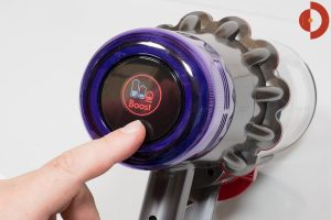 Dyson-V11-Absolute-Test-Dysplay-Moduswechsel-Boost