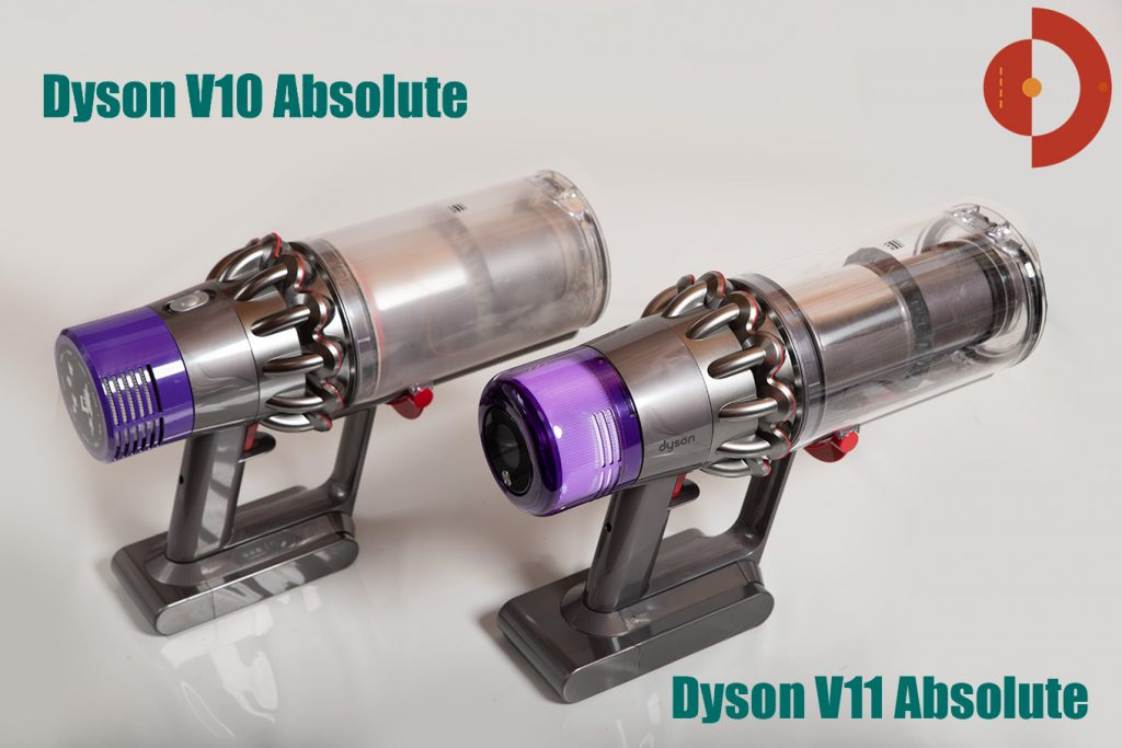 Dyson V11 Absolute Test -Vergleich von Dyson V10-mit Dyson V11 Akkustaubsauger