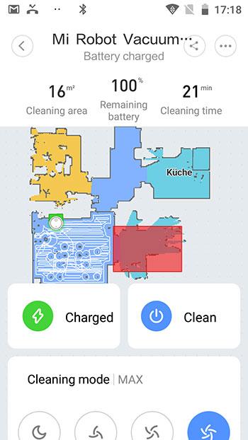 App-Xiaomi-Mi-Robot-1S-Haupscreen-mit-Karte