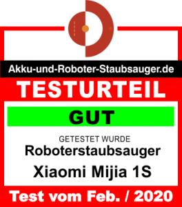 Bewertung-Xiaomi-Mi-Robot-1S-Feb-2020-Testergebnis